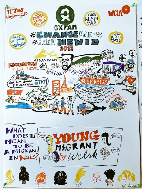 Pupils inspire at Swansea conference