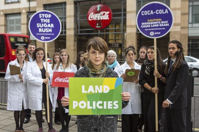 COCA-COLA SAYS NO TO LAND GRABS