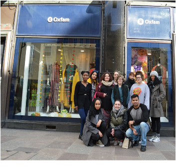 Cardiff students get creative for Oxfam
