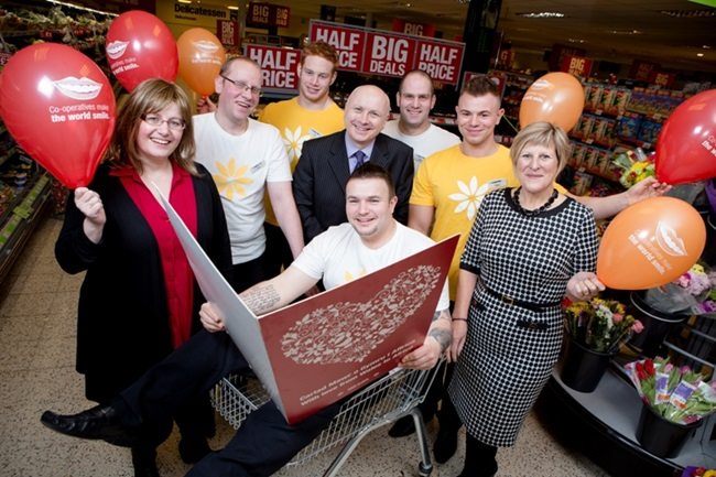 In a fantastic year of fundraising, The Co-operative in Wales raises almost £93,000 for Seeds of Hope