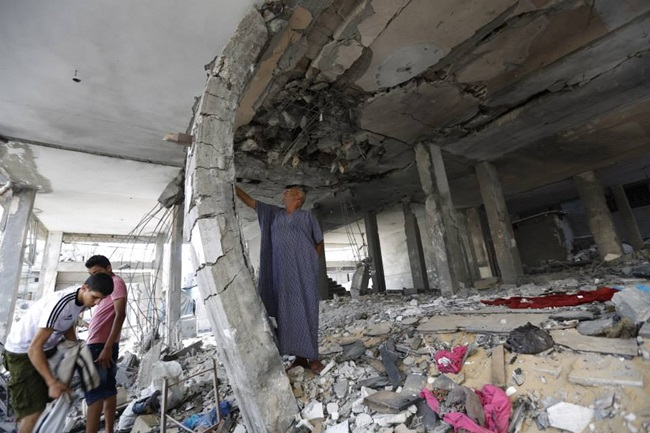 Welsh People urged to dig deep for Gaza