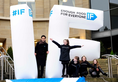 Scotland unites against hunger at IF launch