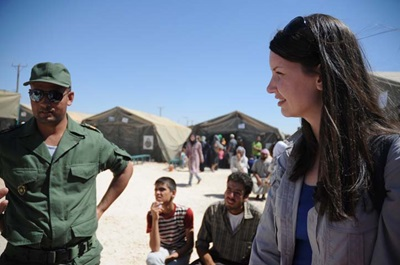Scottish Oxfam worker reports from the Syrian Refugee Crisis