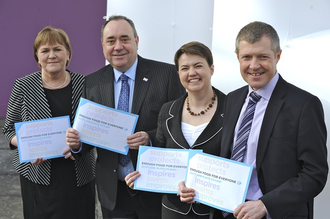 Scots Party Leaders Support End Of Global Hunger
