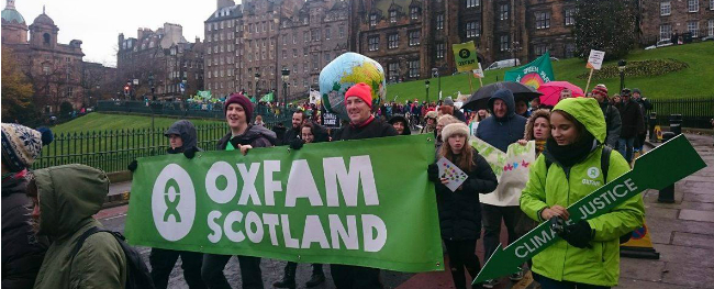 Oxfam Scotland's End Of Year Review