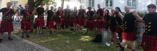 #StandAsOne campaign at Scottish festivals
