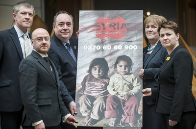DEC Syria Appeal Receives £100,000 from Scottish Government