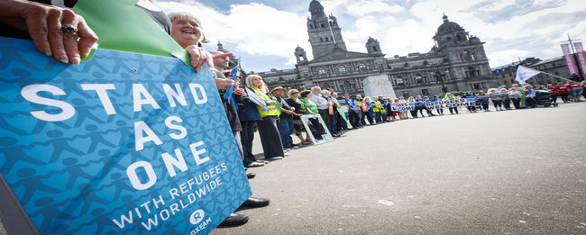 Scotland rolls out the welcome mat to mark World Refugee Day