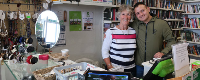 'Volunteering at Oxfam gives me satisfaction'