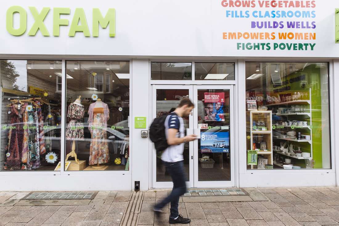 Image of an Oxfam shop